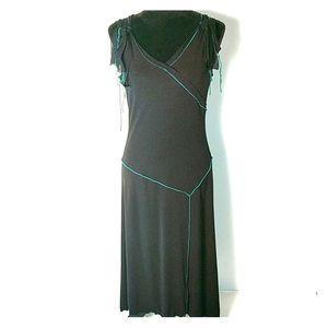 Max Studio Black A-line Dress